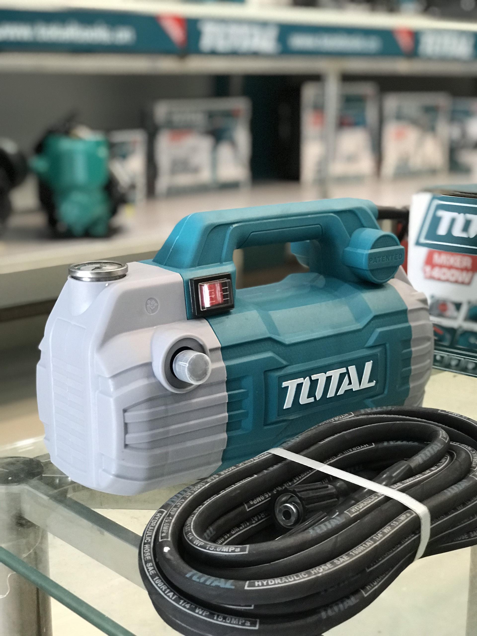 Máy rửa xe total chính hãng - Sản phẩm bảo hành 6T - Rửa xe quảng bình